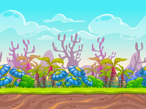 Het landschap van de fantasie vector illustratie