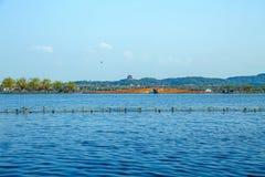 Het Landschap van de Hangzhoustad Royalty-vrije Stock Fotografie