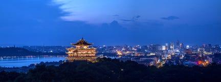 Het Landschap van de Hangzhoustad Stock Fotografie