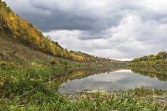 Het landschap van de herfst. Royalty-vrije Stock Afbeelding