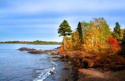 Het Landschap van de herfst stock afbeeldingen