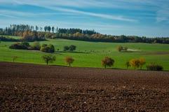 Het landschap van de Herfst De republiek Moldova Stock Afbeelding