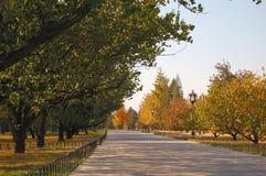 Het landschap van de herfst in Peking Royalty-vrije Stock Afbeeldingen
