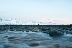 Het landschap van de herfst van Noorwegen Royalty-vrije Stock Foto