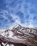 Het landschap van de Himalayanberg in Tibet, China royalty-vrije stock foto's