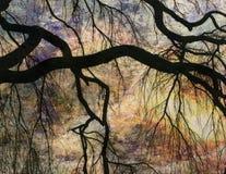 Het Landschap van de impressionist stock foto
