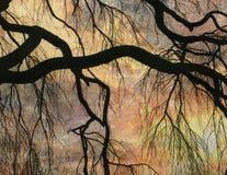 Het Landschap van de impressionist stock fotografie