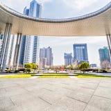 Het Landschap van de Jiangyinstad Royalty-vrije Stock Fotografie