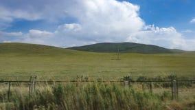 Het landschap van de K1518-trein die overgaan door royalty-vrije stock foto's