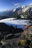 Het landschap van de Kaukasus Royalty-vrije Stock Foto