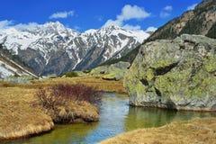 Het landschap van de Kaukasus royalty-vrije stock fotografie