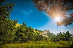 Het landschap van de Krim Stock Fotografie