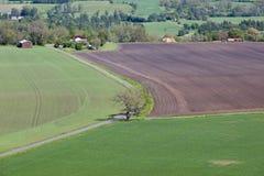 Het landschap van de landweg Royalty-vrije Stock Afbeelding