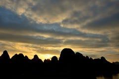 Het landschap van de Lijiangrivier Royalty-vrije Stock Afbeelding