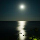 Het landschap van de maan Stock Foto