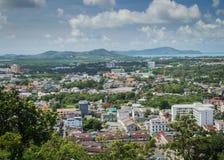 Landschap van Stad Phuket Stock Foto's