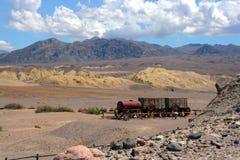 Het landschap van de mijn in Utah Stock Foto