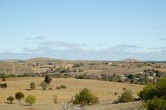 Het Landschap van de Mijn van Burra Royalty-vrije Stock Afbeeldingen