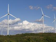 Het landschap van de Molen van de wind Royalty-vrije Stock Afbeelding