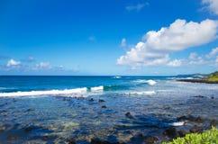 Het landschap van de mooie oceaan stock afbeeldingen
