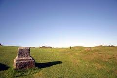 Het Landschap van de Muur van Hadrianâs Stock Afbeeldingen