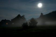 Het landschap van de nacht Royalty-vrije Stock Afbeeldingen