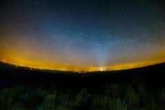 Het landschap van de nacht royalty-vrije stock foto's