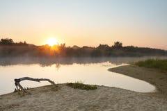 Het landschap van de ochtend royalty-vrije stock foto