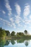 Het landschap van de ochtend royalty-vrije stock afbeelding