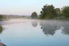 Het landschap van de ochtend Stock Foto's