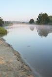 Het landschap van de ochtend stock fotografie