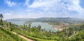 Het landschap van de panoramaberg stock afbeelding