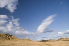 Het landschap van de prairie Royalty-vrije Stock Afbeeldingen