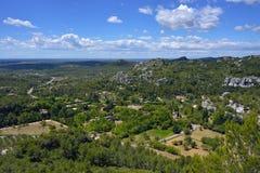 Het landschap van de Provence, Frankrijk Royalty-vrije Stock Fotografie