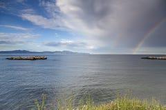 Het landschap van de regenbooghemel Royalty-vrije Stock Fotografie