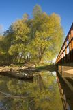 Het landschap van de rivier Royalty-vrije Stock Afbeelding