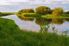 Het landschap van de rivier Royalty-vrije Stock Foto