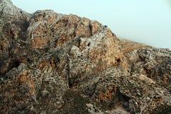 Het Landschap van de de Rotsberg van Griekenland stock foto's