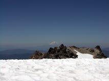 Het Landschap van de sneeuw stock afbeeldingen