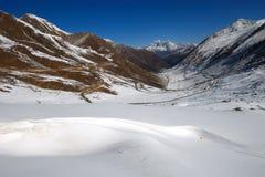 Het landschap van de sneeuw Royalty-vrije Stock Fotografie
