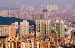 Het landschap van de stad Stock Fotografie