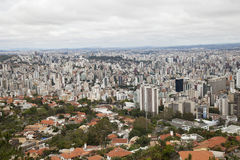 Het landschap van de stad Stock Afbeelding