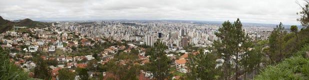 Het landschap van de stad. Stock Foto