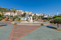 Het landschap van de stad Alanya Royalty-vrije Stock Afbeelding