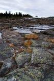 Het landschap van de steen Stock Afbeeldingen