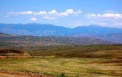 Het Landschap van de steppe Royalty-vrije Stock Afbeelding