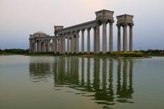 Het landschap van de Tianjinstad van de stad, China Stock Fotografie