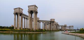 Het landschap van de Tianjinstad van de stad, China Royalty-vrije Stock Fotografie