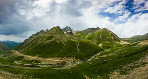 Het landschap van de Tianshanberg in Xinjiang, China Royalty-vrije Stock Afbeelding