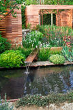 Het landschap van de tuin Stock Foto